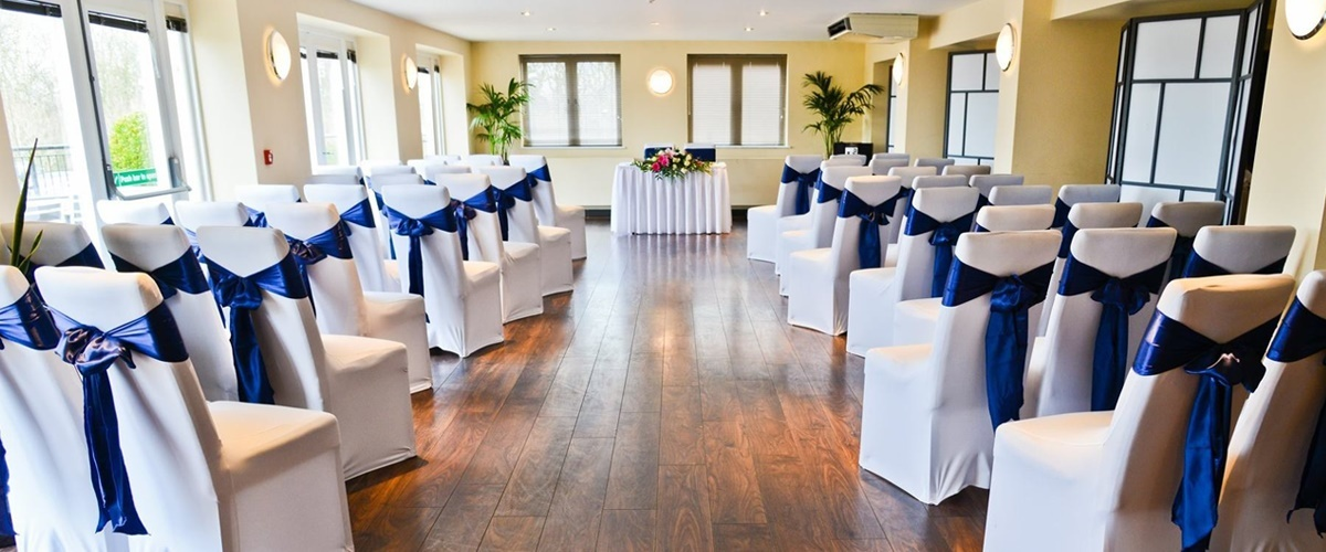 Wedding Ceremonies at Doubletree Cadbury House