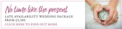 No Time Like the Present - Late Availability Package