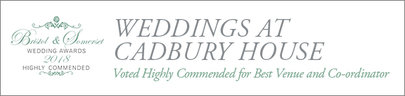 Weddings at Cadbury House - Award Winning Venue and Co-Ordinator
