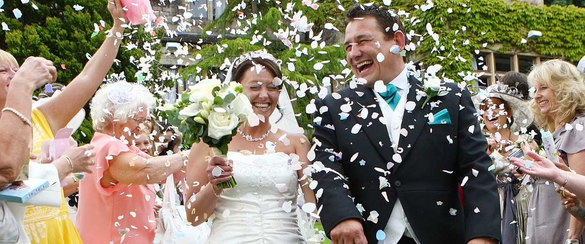Confetti Wedding Party